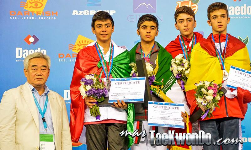 D4_1st WTF World Cadet Taekwondo Championships_Cadet Male -61kg