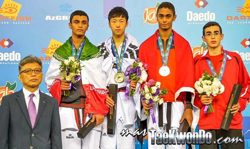 D4_1st WTF World Cadet Taekwondo Championships_Cadet Male -65kg