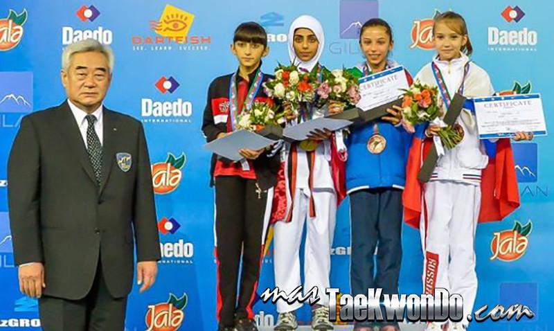 D1_1st WTF World Cadet Taekwondo Championships_Cadet Female -29kg