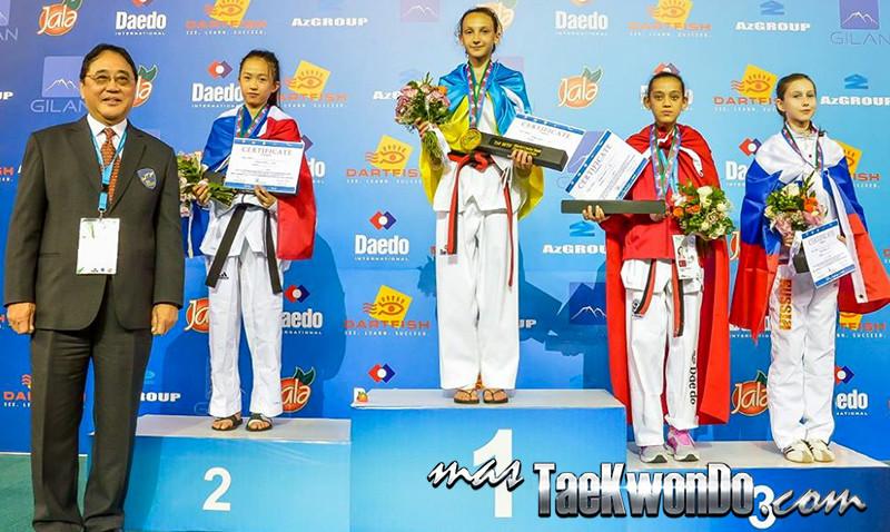 D1_1st WTF World Cadet Taekwondo Championships_Cadet Female -33kg