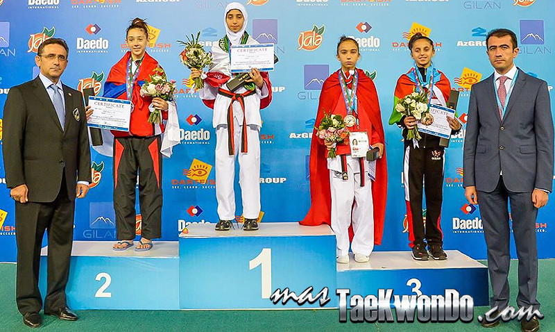 D1_1st WTF World Cadet Taekwondo Championships_Cadet Female -37kg