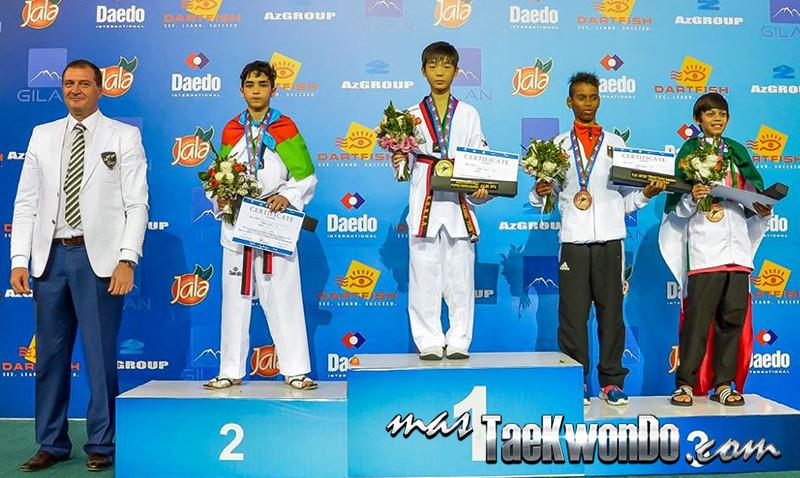 D1_1st WTF World Cadet Taekwondo Championships_Cadet Male -33kg