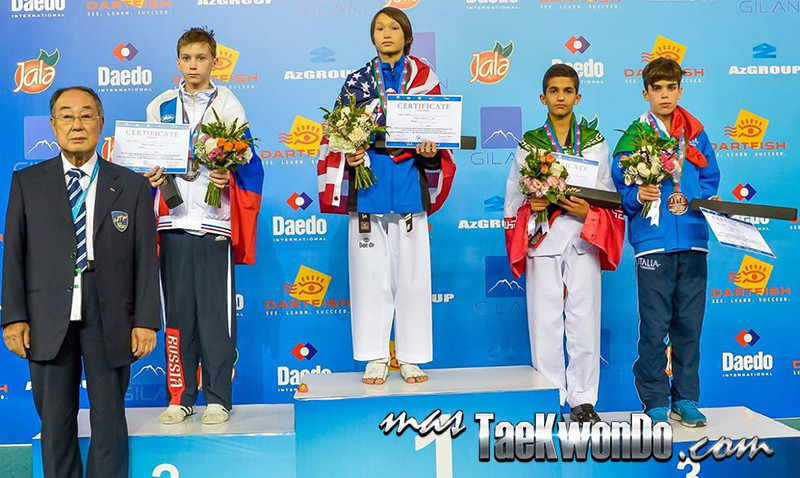 D1_1st WTF World Cadet Taekwondo Championships_Cadet Male -37kg