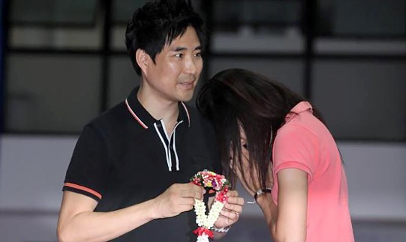 Choi Young Seok y Rungravee Khurasa