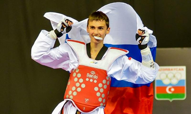 Dmitrii Pastukhov de Rusia oro en el Mundial Cadetes