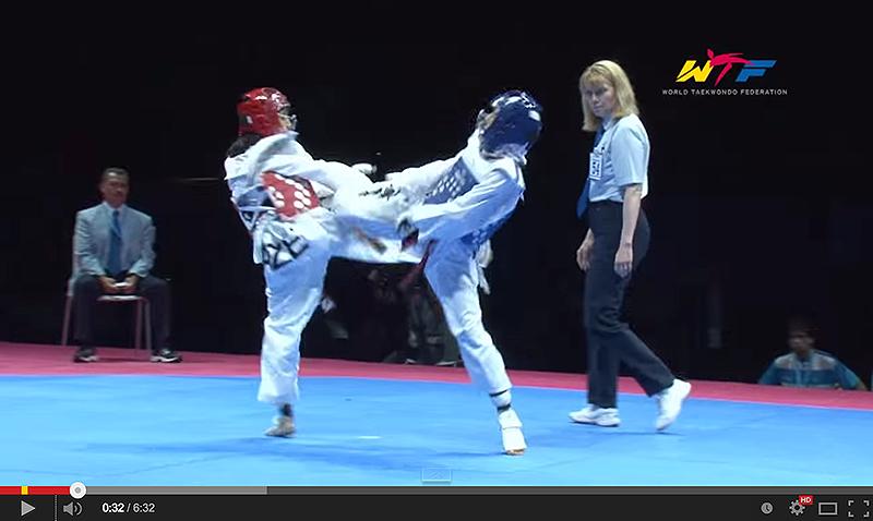 Imagen del video de la Final del mundial de cadetes