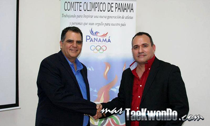 Boris Alvarez presidente de la Federación Panameña de Taekwondo