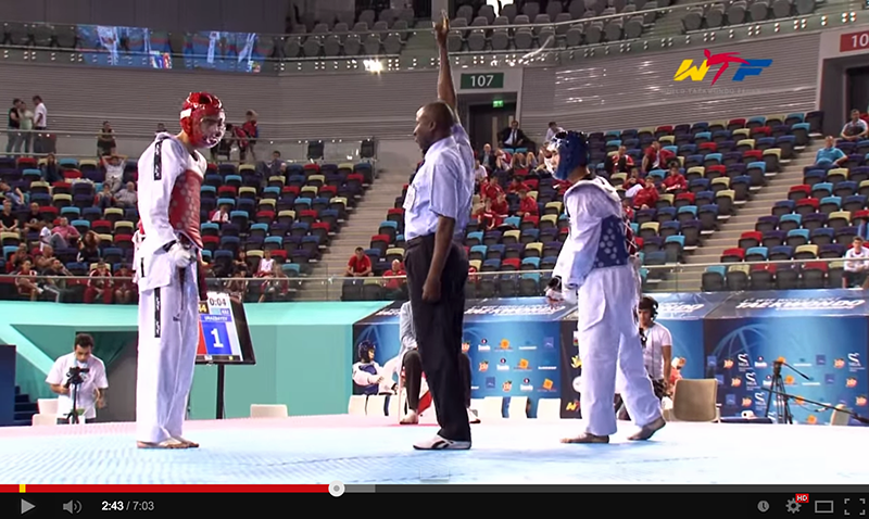 Videos del World Cadet Taekwondo Championships