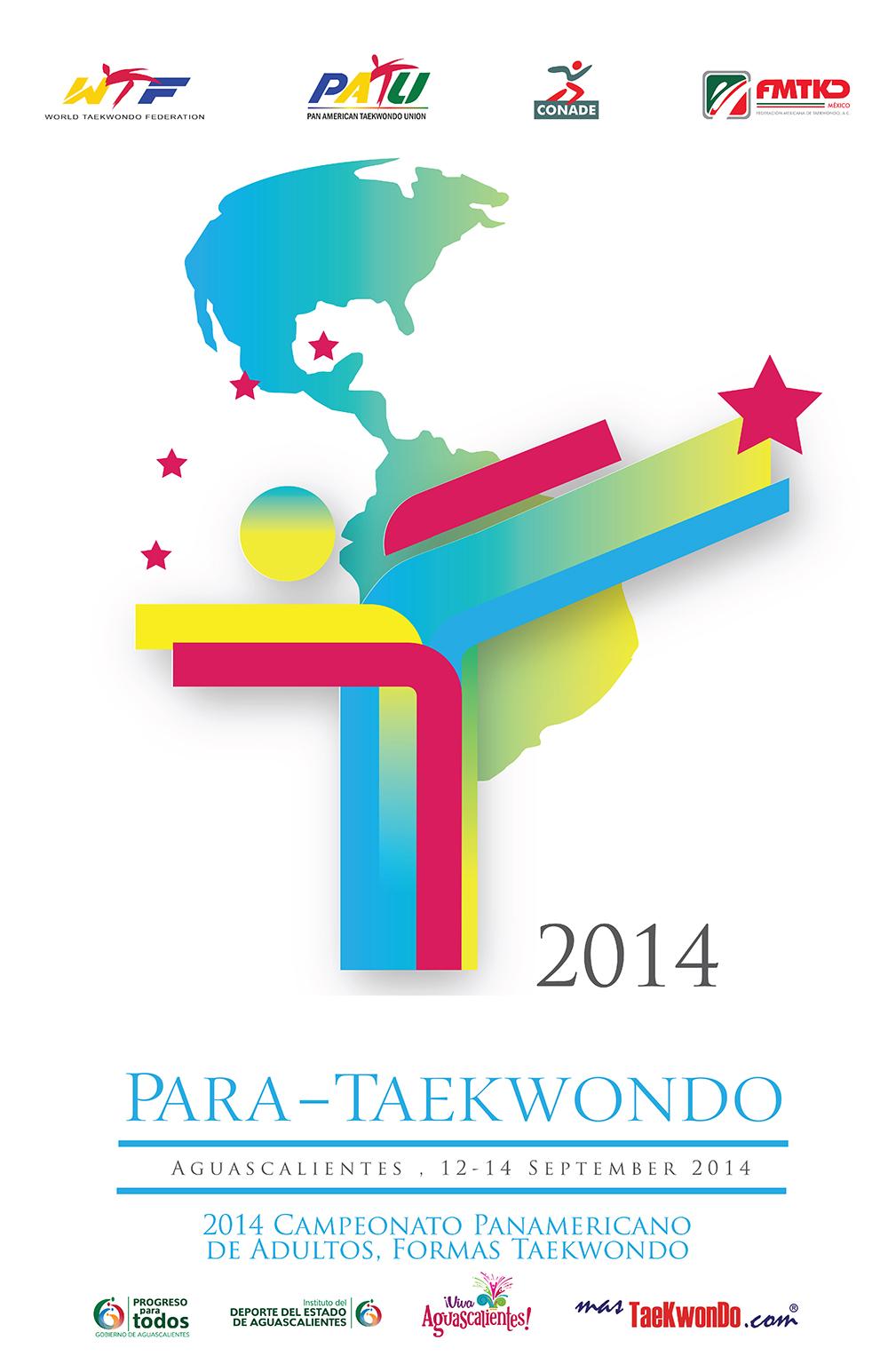 Poster Panamericano de Para-Taekwondo
