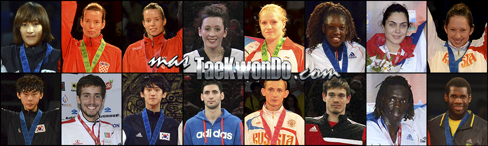 Números 1 – WTF World Ranking – Taekwondo WTF – Julio 2014.
