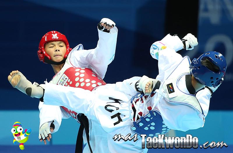 Huang Yu Jen (TPE) y Joo-Donghun (KOR) - M-55 Kg