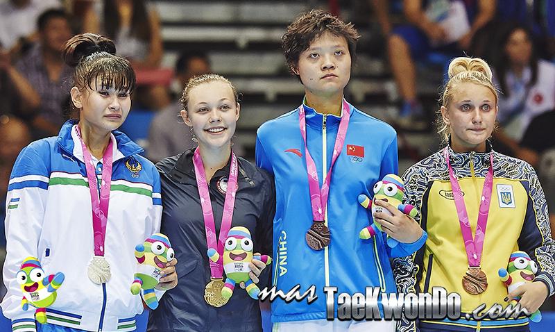 Podio Taekwondo Nanjing 2014 F+63 (21-08-14)