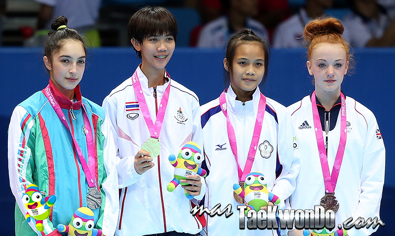 Podio Taekwondo Nanjing 2014  F-44 (17-08-14)