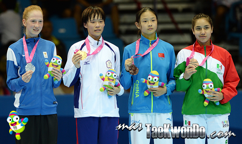 Podio Taekwondo Nanjing 2014 F-49 (18-08-14)