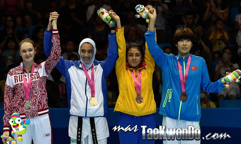 Podio Taekwondo Nanjing 2014 F-63 (20-08-14)