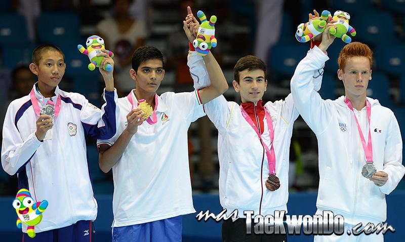 Podio Taekwondo Nanjing 2014  M-48 (17-08-14)