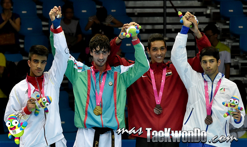Podio Taekwondo Nanjing 2014 M-73 (20-08-14)