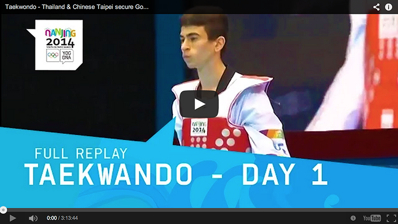 Videos de 2014 Nanjing Youth Olympic Games (1er día)