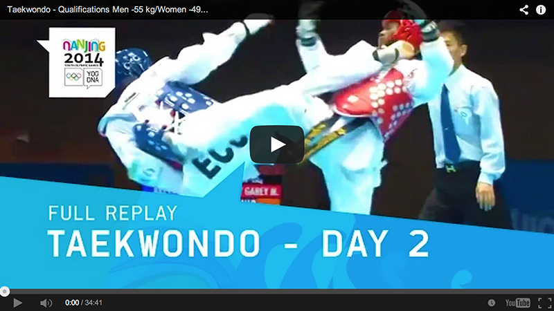 Videos de 2014 Nanjing Youth Olympic Games (2do día)