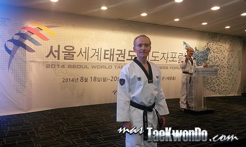 Oskar Posada - Foro Mundial de Líderes del Taekwondo