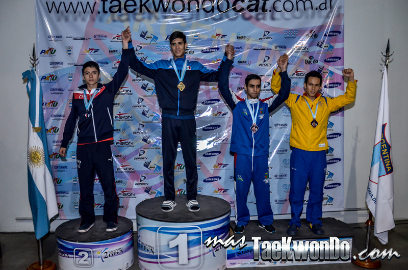 Argentina Open 2014, Podio G1 M-54