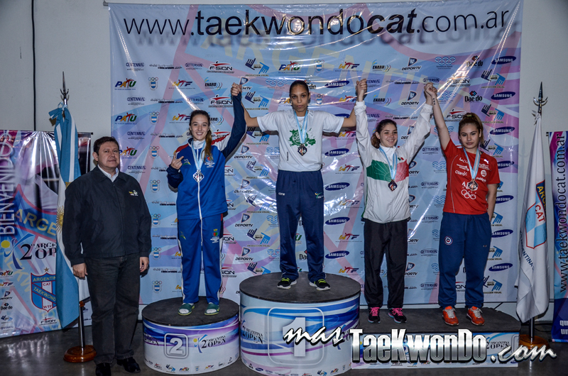 Argentina Open 2014, Podio G1 F-57