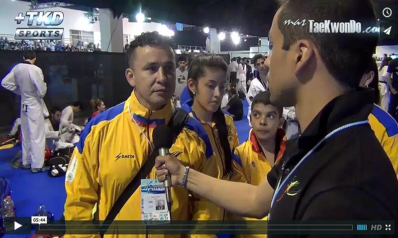 Entrevista seleccion Colombia de Taekwondo