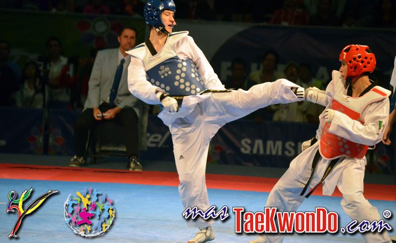 Dae-Hoon Lee, Oro en el Mundial de Taekwondo Puebla 2013