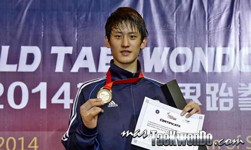 Dae-hoon Lee, Oro en GP Suzhou 2014