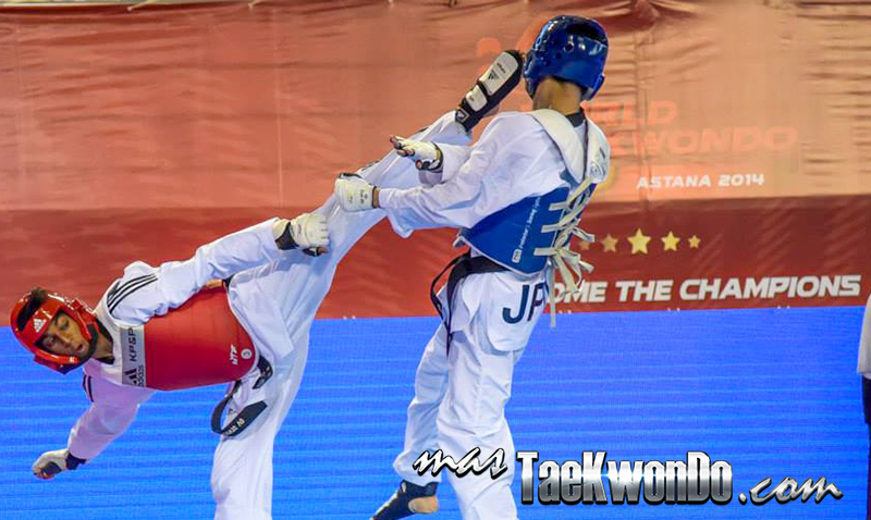 GP Series 2, Astana 2014, Taekwondo M-58