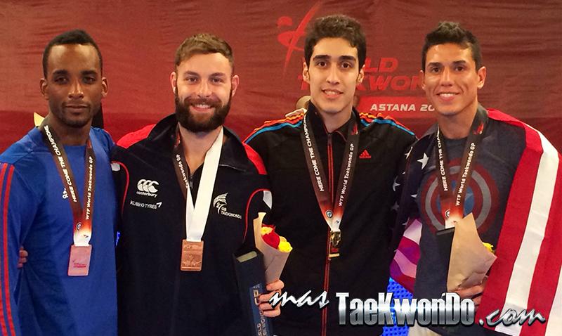 GP Series 2, Astana 2014, Podio Taekwondo M-80