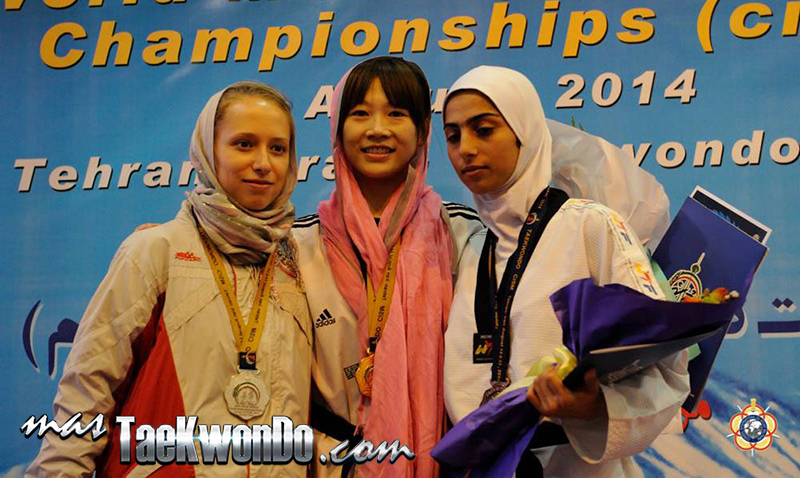 Podio F-46, 22nd World Military Taekwondo Championship