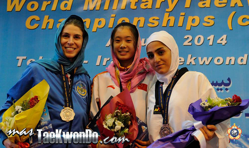 Podio F-49, 22nd World Military Taekwondo Championship