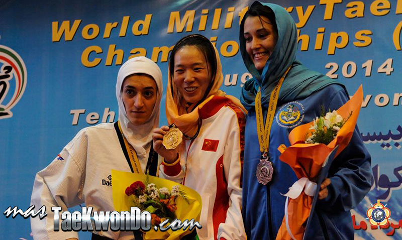 Podio F-53, 22nd World Military Taekwondo Championship