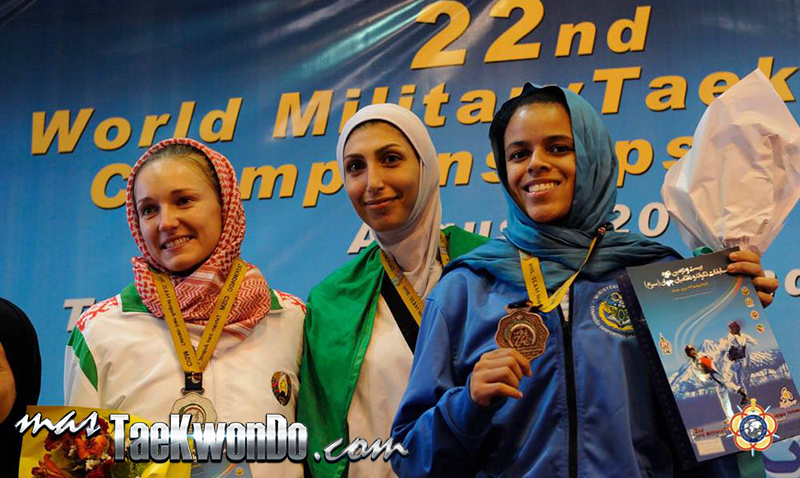 Podio F-62, 22nd World Military Taekwondo Championship