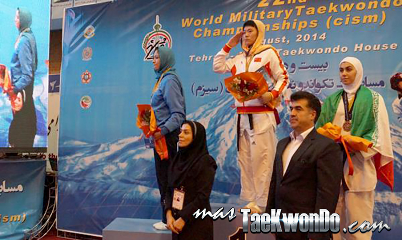 Podio F-67, 22nd World Military Taekwondo Championship