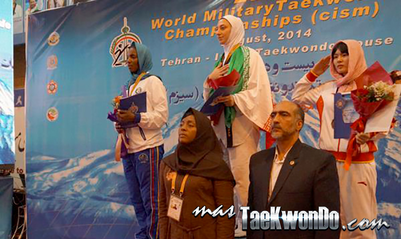 Podio F-73, 22nd World Military Taekwondo Championship