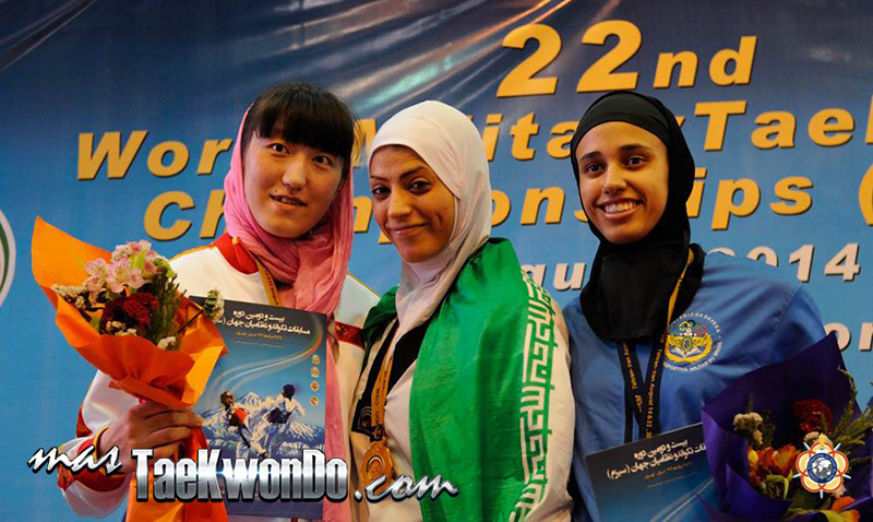 Podio Fo73, 22nd World Military Taekwondo Championship