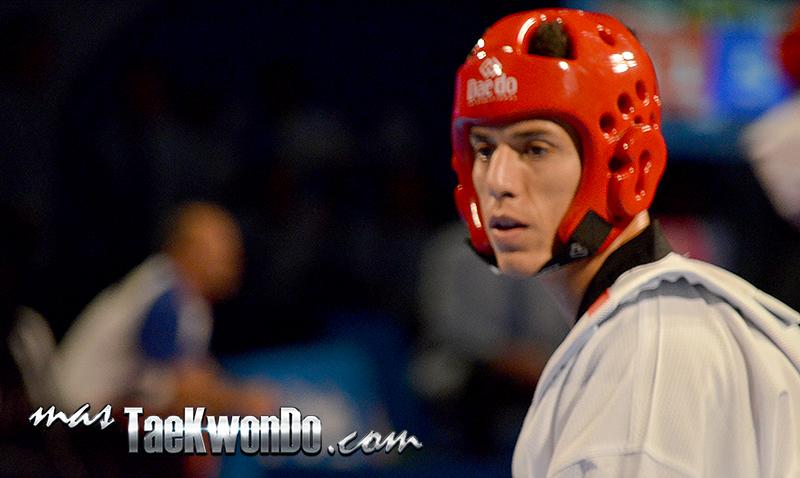 Steven Lopez, Taekwondo USA M-80 Kg.