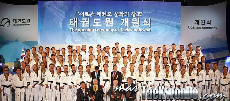 Ceremonia de Apertura del Taekwondowon, Maestros