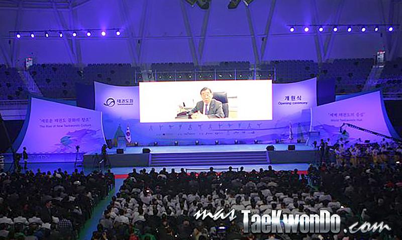 Ceremonia de Apertura del Taekwondowon