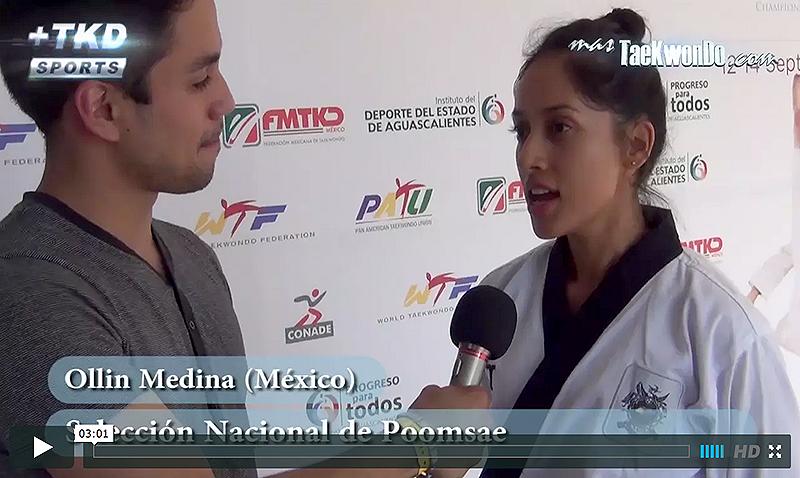 Ollin Medina, Selección Mexicana de Poomsae