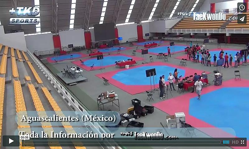 Gimnasio Olimpico de Aguascalientes, Taekwondo