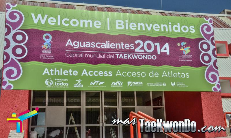 Bienvenidos a Aguascalientes, Capital Mundial del Taekwondo