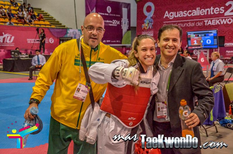 Brasil oro primer dia del panamericano de Taekwondo