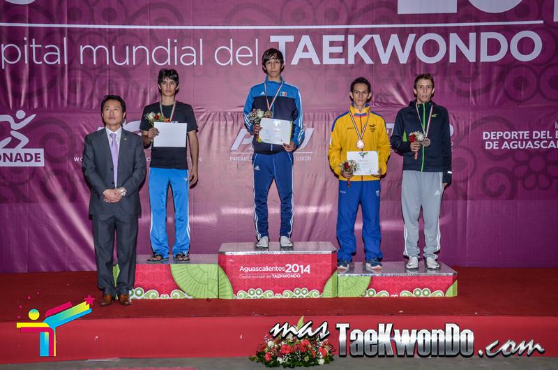 Podio Mexico Open G1,FIN Masculino -54 Kg.