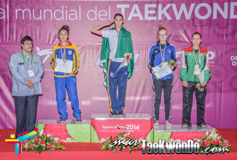 Podio Mexico Open G1, FLY Femenino -49 Kg.