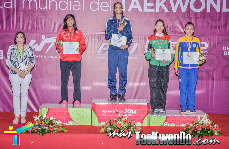Podio Mexico Open G1, FEATHER Femenino -57 Kg.
