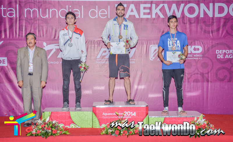 Podio Mexico Open G1, FEATHER Masculino -68 Kg.