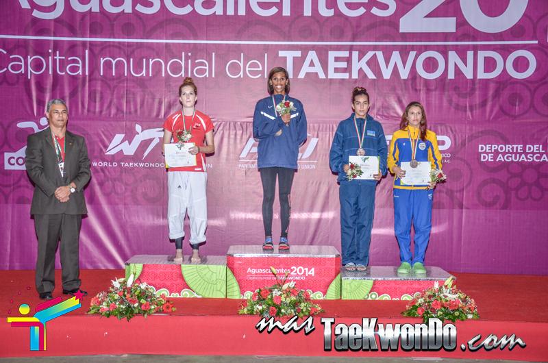 Podio Mexico Open G1, BANTAM Femenino -53 Kg.
